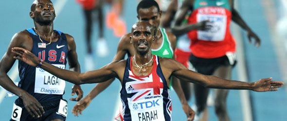 Mo Farah for Kelvin Hall