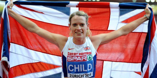 Eilidh Child gets Gold