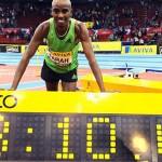 Farah sets European Indoor 5000m record