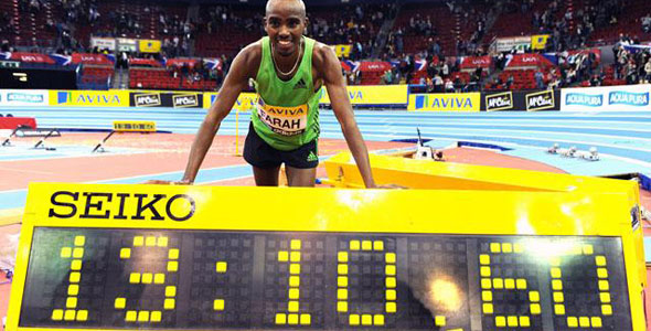 Farah New European 5000 Record