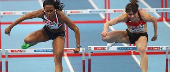 Tiffany Ofili UK Indoor Record