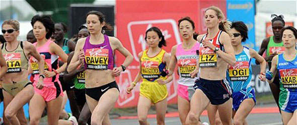Jo Pavey - London Marathon