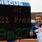 Greaves sets new discus world record