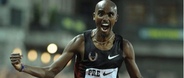 Mo Farah - UK and European 10000m Record