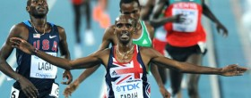 Farah wins Gold in Daegu