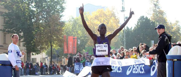 Leonard Komon for Great South Run