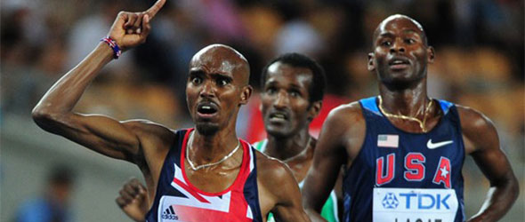 Mo Farah - European Athlete of the Year 2011