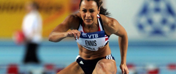 Jessica Ennis - Istanbul 2012