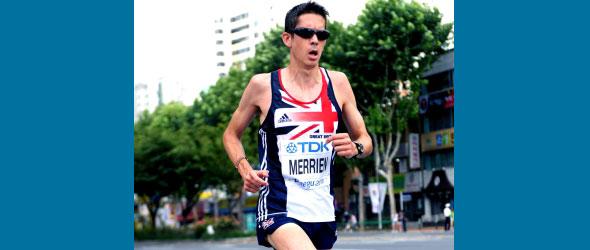 Lee Merrien included in UK Marathon Team