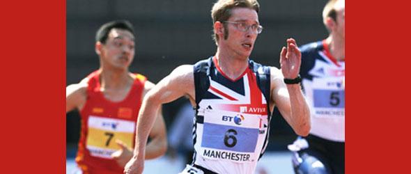 Graeme Ballard sets T36 World Record