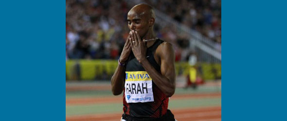 Mo Farah for London Grand Prix