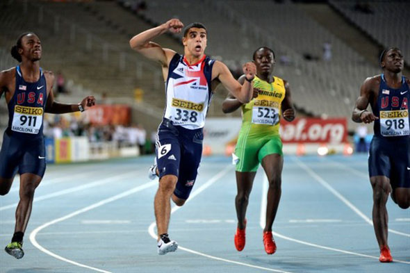 Adam Gemili strikes Barcelona Gold