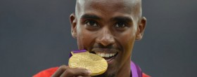 Farah on New Year's Honours List
