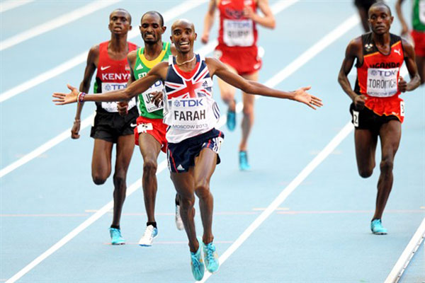 Farah, Ohuruogu named Athletes of the Year