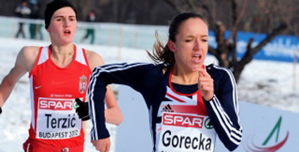 Gorecka leads UK Euro Charge
