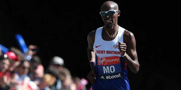 Mo Farah sets English marathon record