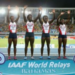 Silver at World Relay Champs