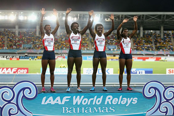 4 x 200m relay silver