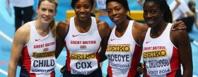 UK select World Relay team