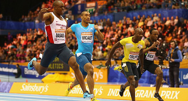 James Dasaolu wins at Diamond League