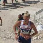 Emma Clayton wins Mountain Running silver
