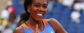 Tiffany Porter hurdles record