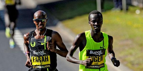 Mo Farah - Great North Run 2014