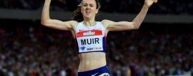 Laura Muir sets new 3000m indoor record