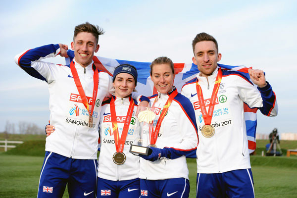 UK win Mixed Relay title in Samorin