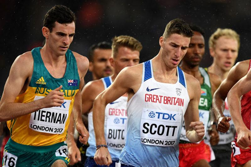 Scott sets European 5000m Indoor record